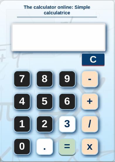 calculette en ligne