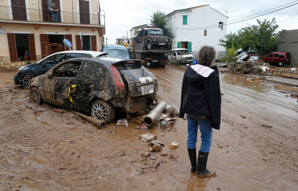 crue inondation boue